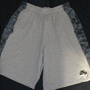 Nike shorts sweatpants material